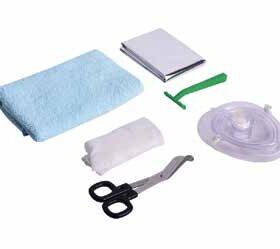 Reanimatiekits en losse hulpmiddelen